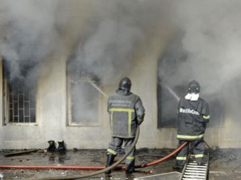 Офис КПРФ сгорел в результате поджога