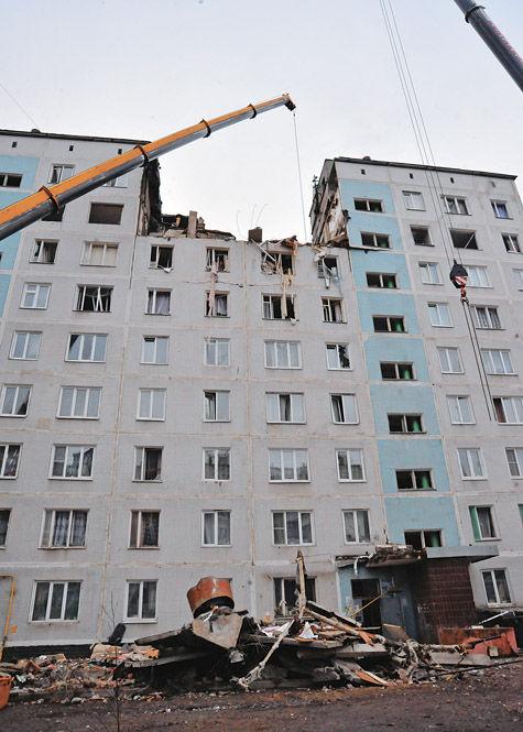 Взорванный дом восстановят к новому году