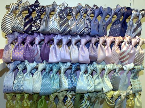 Изобретатель решил главную проблему галстуков