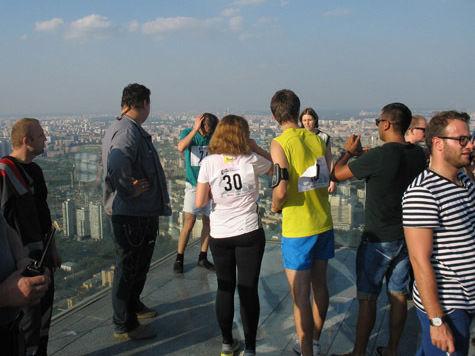 В Москве прошли гонки по вертикали