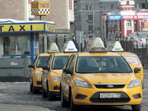 Такси пожелтеют спереди и сзади