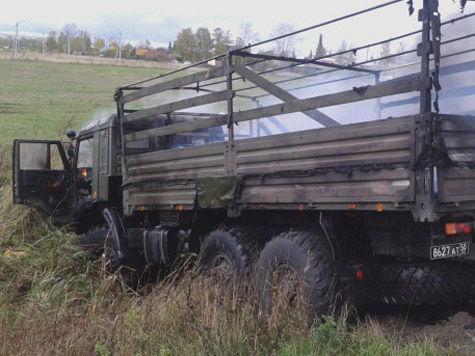Семь человек заживо сгорели в микроавтобусе под Владимиром