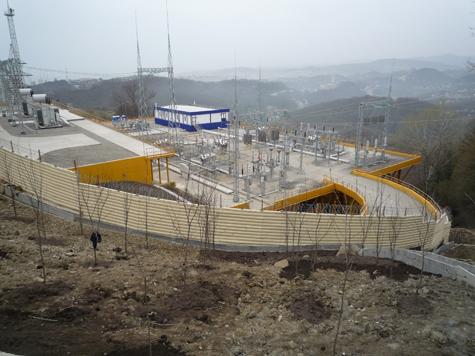 В Сочи к Олимпиаде строятся новые электросетевые объекты.