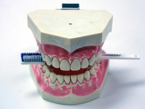 Зубные щетки станут продавать роботы
