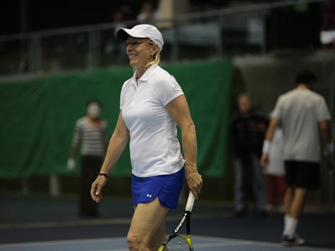 Мартина Навратилова — «МК»: «Теннис стал выше ростом»