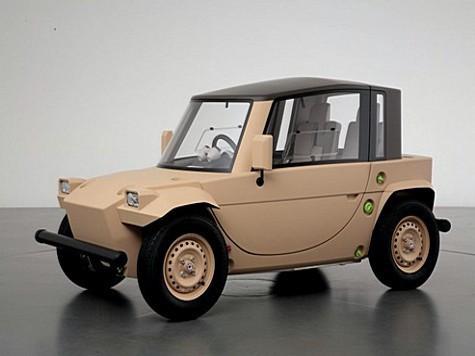 Японцы построили бензиновый автомобиль для детей