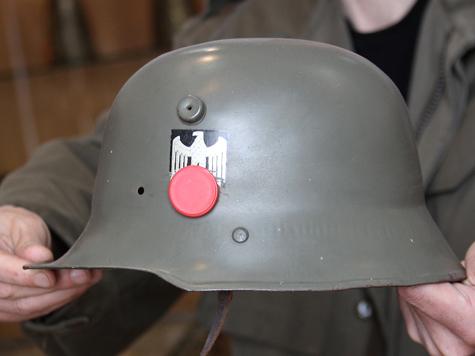 На воре горела нацистская каска
