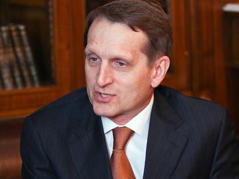 Нарышкин против переезда депутатов в «новую Москву»