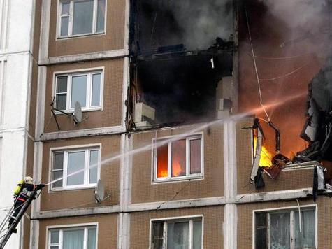 Самоубийца попытался взорвать дом в Москве