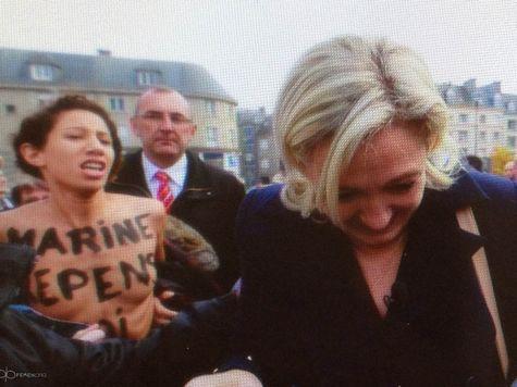 Femen призвали Марин Ле Пен отказаться от ксенофобии и гомофобии