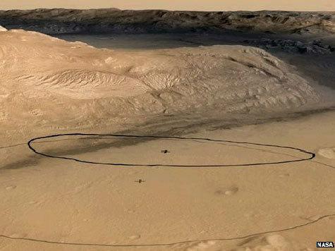 Американский космический аппарат приближается к Марсу. Место посадки уже известно. ВИДЕОСИМУЛЯЦИЯ