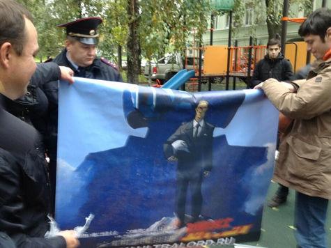 Брат вице-премьера Дворковича уже почти сутки находится в камере за попытку поздравить Путина