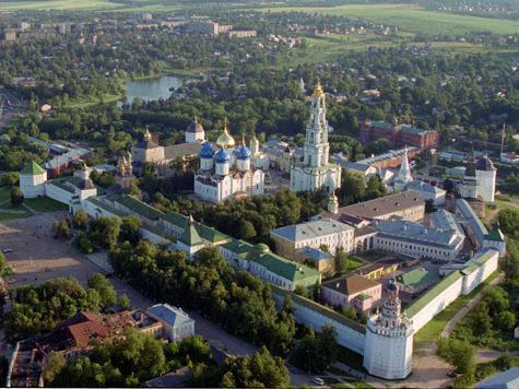 Троице-Сергиеву лавру отреставрируют за 1,57 млрд рублей