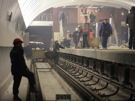 Подмосковное метро откроется в2013 году