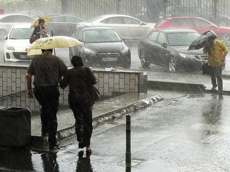 Москва идет на мокрый рекорд