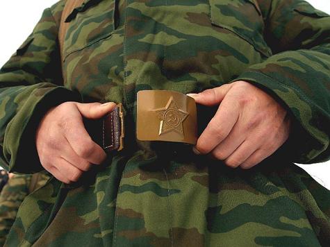 Срочникам доплатят за службу в Кремле