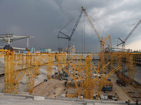 Стадион «Спартак» строили 60 нелегалов