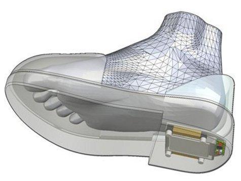 Обувь со встроенным GPS-навигатором доведет куда надо