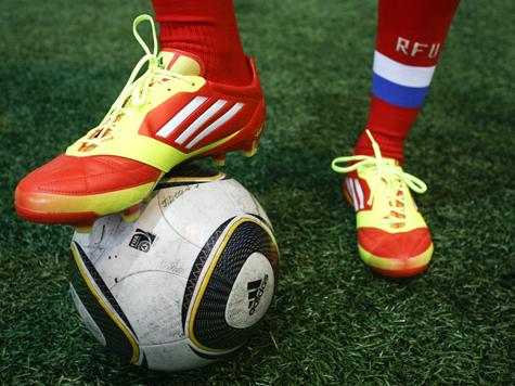 Футбол под флагом добра