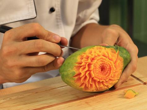 Карвинг для начинающих из фруктов мастер класс