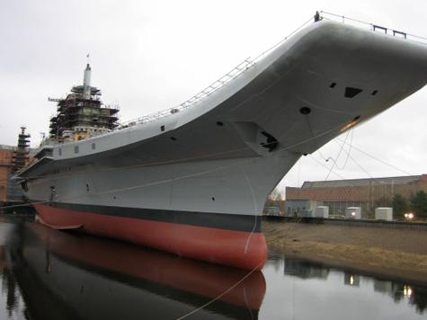 «Адмирал Горшков» выходит в море