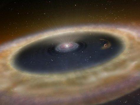 Вокруг звезд с пылевыми дисками могут существовать землеподобные миры