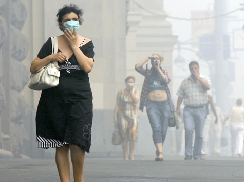 Роботы начнут искать в столице грязный воздух