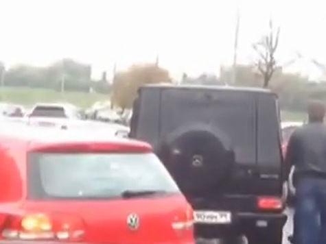 «Випы», избившие водителя на Дербеневской набережной, могут быть охранниками мужа певицы Жасмин