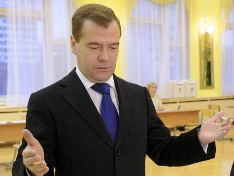 Президент Медведев ищет «сильных духом»