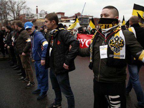 """""""Русский марш"""" в Москве прошел мирно и  без провокаций"""