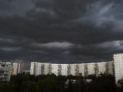 Грозы придут в Москву в конце недели
