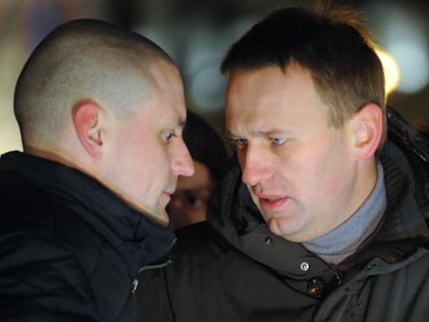 Удальцова и Навального могут посадить на 2 года