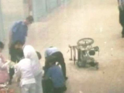 Инвалид устроил взрыв в аэропорту Пекина от отчаяния