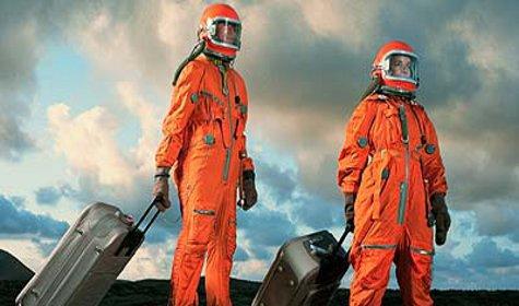 Полеты в космос замедляют старение организма