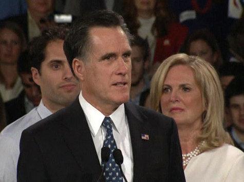 Ромни вырывается вперед
