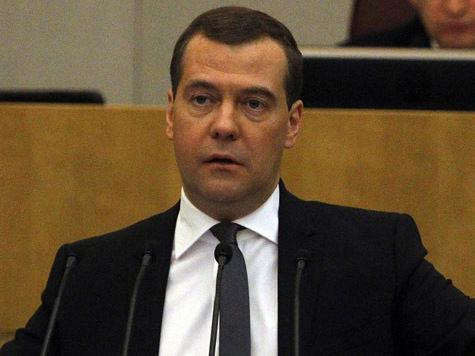 Медведев отдал зарплату за наводнение