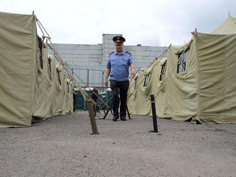 В московский лагерь для мигрантов привезли 2 тонны риса