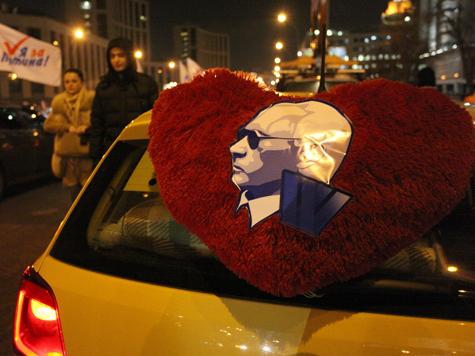 «Путин за рулем» стал виновником ДТП