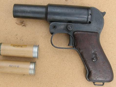 Сигнальные пистолеты станут оставлять следы