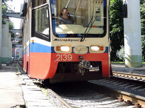 Маршрут трамваев на Бульварном кольце пока не изменится