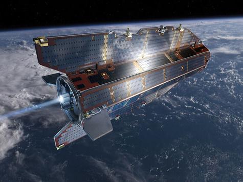 В начале ноября на Землю упадет неуправляемый спутник