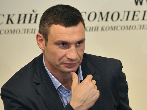 Кличко назвал украинских депутатов «кнопкодавами»