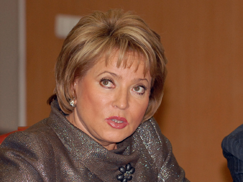 Валентина Матвиенко: «Это риск, но иначе нельзя»