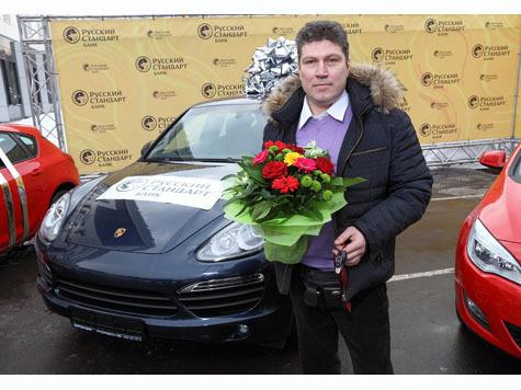 ЗАО «Банк Русский Стандарт»* вручил подарки победителям акции