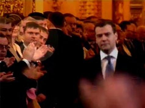 Сергей Цапок на инаугурации президента? ВИДЕО