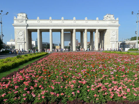 Москвичи смогут вознестись над парком Горького