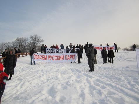 В Красногорске тоже митингуют