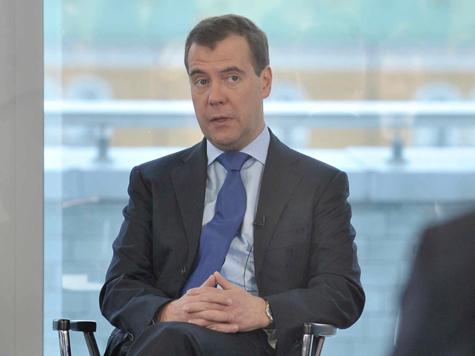 Медведев рассекретил заседания правительства