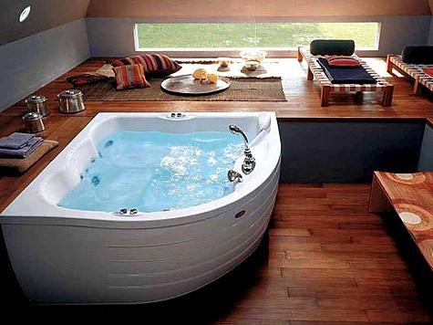 Гидромассажная ванна 9F43- 292A+ 9F23-5220 Гидромассаж в ванной 6