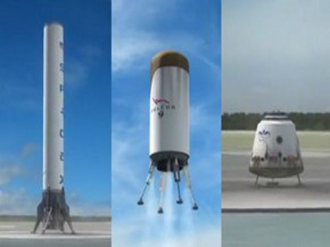 Американцы конструируют первую в истории многоразовую ракету